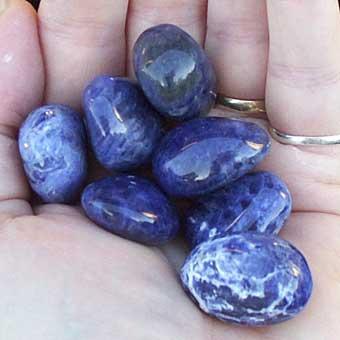 Синий камень название фото